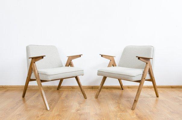 Wondrous Vintage Bunny Lounge Chairs From Dolnoslaskie Furniture Factories 1970S Set Of 2 Creativecarmelina Interior Chair Design Creativecarmelinacom