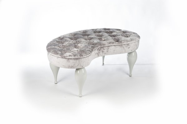 Marvelous Gray Senib Fabric Carlos Pouf From Vgnewtrend Alphanode Cool Chair Designs And Ideas Alphanodeonline