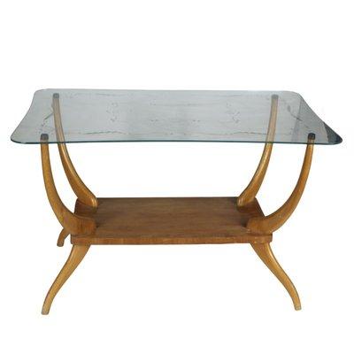 Italian Light Wood Coffee Table 1950s For Sale At Pamono