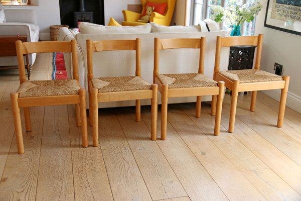 purchase cheap 52dd1 5d771 Carimate Dining Chairs by Vico Magistretti for Habitat, 1970s, Set of 4