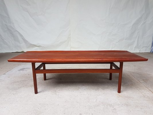 Large Mid Century Teak Coffee Table From Dalescraft 1960s