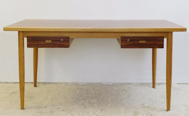 Vintage Wooden Desk 1970s For At