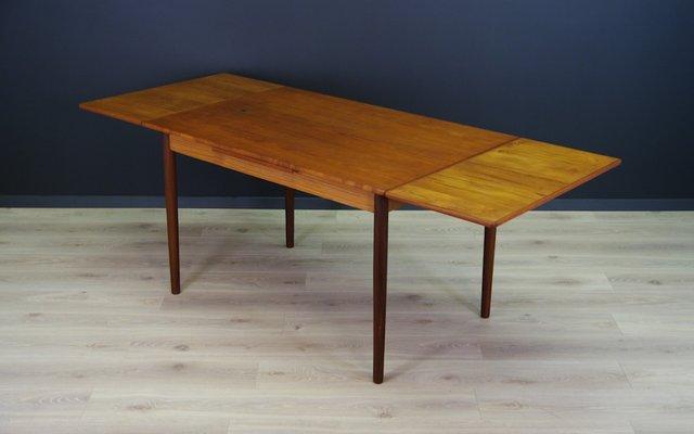 Vintage Esstisch aus Teak im skandinavischen Design, 1960er