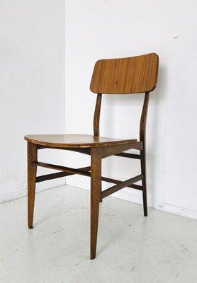 Sedie Da Scrivania In Legno.Sedia Da Scrivania Vintage In Legno Scandinavia Anni 60 In