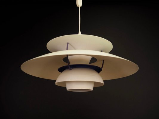 Vintage Danish Ph5 Lamp By Poul Henningsen For Louis Poulsen 1970s