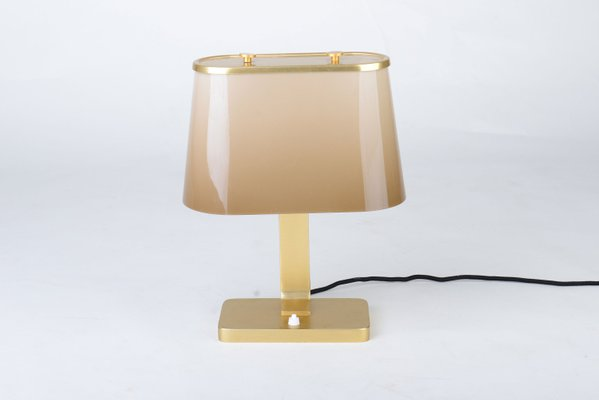Mid Century Modern Table Lamp By Helmholz And Pauli 1960s