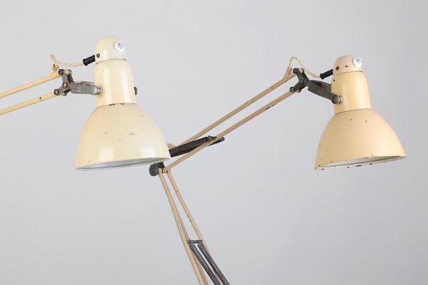 de mesa vintageaños Lámpara 30 industrial lJ3K1cTF