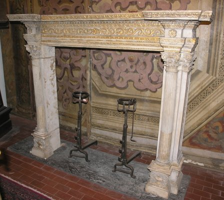 Stone Fireplace Mantel For At Pamono