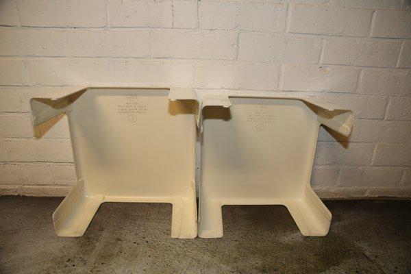 Mario Bellini Design.Gatti Stacking Tables By Mario Bellini For C B Italia 1968 Set Of 2