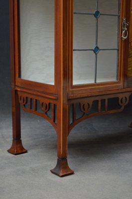 Antiker Jugendstil Schrank mit Spiegel bei Pamono kaufen