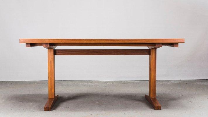 Table De Salle A Manger Extensible En Teck Danemark 1960s En