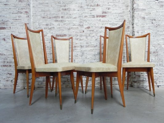 Strange Vintage Dining Chairs 1960S Set Of 6 Alphanode Cool Chair Designs And Ideas Alphanodeonline