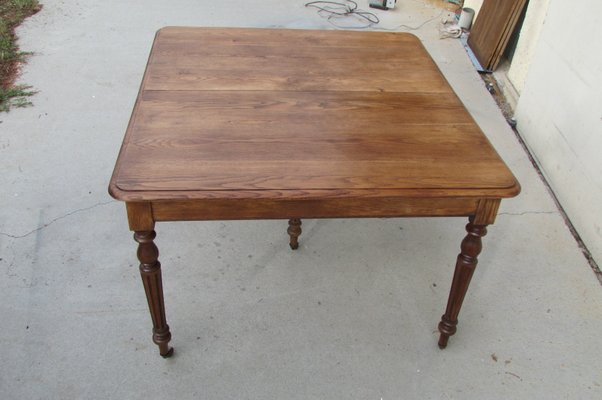 Oak Dining Room Table 1930s