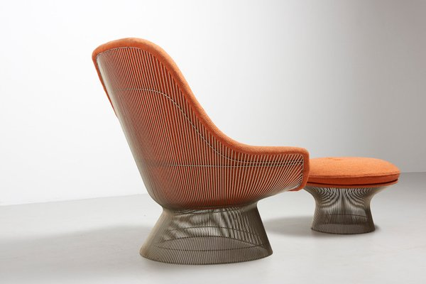 Fantastic Lounge Chair With Ottoman By Warren Platner For Knoll 1960S Gamerscity Chair Design For Home Gamerscityorg