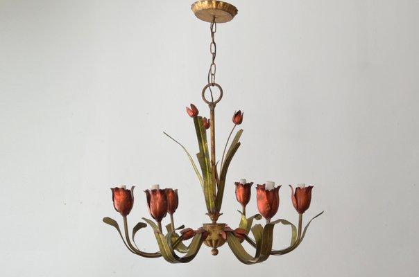 Lámpara de Century Tulip grandeaños araña Mid 50 P80kwnO
