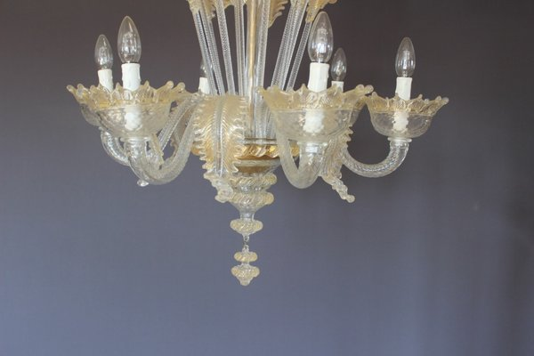 Miraculous Mid Century White And Gold Murano Chandelier 1950S Spiritservingveterans Wood Chair Design Ideas Spiritservingveteransorg