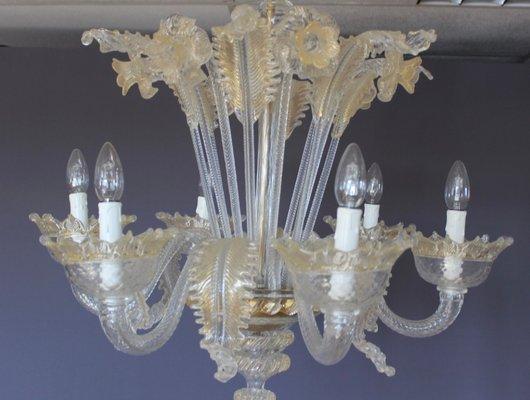 Astonishing Mid Century White And Gold Murano Chandelier 1950S Spiritservingveterans Wood Chair Design Ideas Spiritservingveteransorg