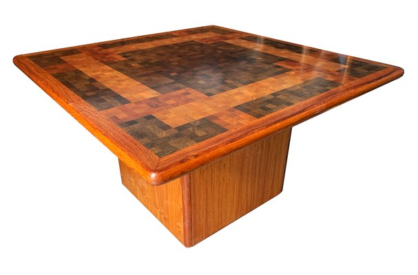 End Grain Coffee Table.Danish Wood End Grain Mosaic Coffee Table By G L Christensen R Middelboe For Tranekaer Furniture 1970s
