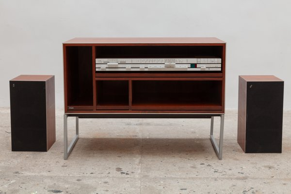 Danish Rosewood Beomaster 3000 2 Stero Cabinet With Speakers By Arne Bang 1970s