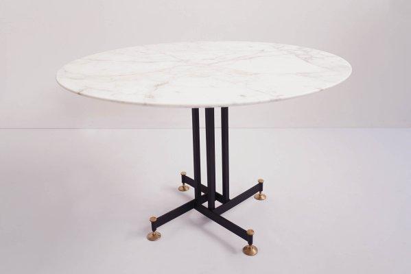 Tavolo Da Cucina In Marmo Anni 50.Tavolo Da Pranzo In Marmo Calacatta Di Ignazio Gardella Italia