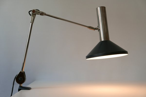 Mid Century Modern Task Lamp Or Clamp Table Light From Beisl 1970s
