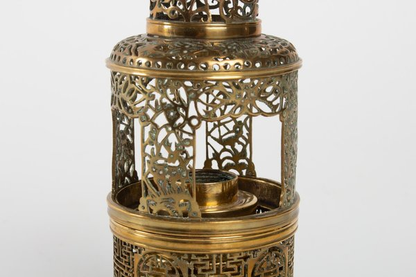 Antique Chinese Lantern Shaped Opium