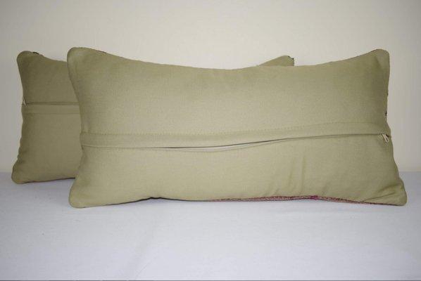 Housses de Coussin d\'Extérieur Kilim en Laine de Vintage Pillow Store  Contemporary, Set de 2