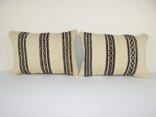 Turkish Lumbar Pillow Covers From Vintage Pillow Store Contemporary Set Of 2 For Sale At Pamono