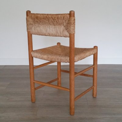 Vintage Dining Chair With Rush Seat