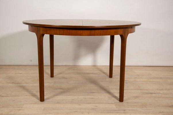Table De Salle A Manger Ronde Extensible De Mcintosh 1960s En