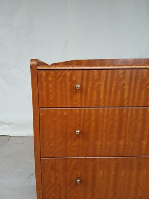 reputable site 15787 82160 Mid-Century Walnut & Teak Chest of Drawers from Lebus, 1950s