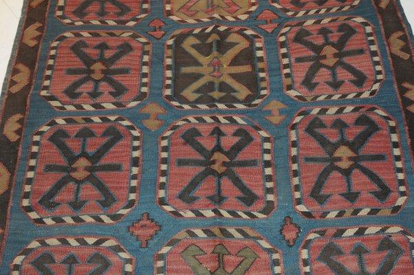 Antique Awar Kilim Rug, 1890s for sale