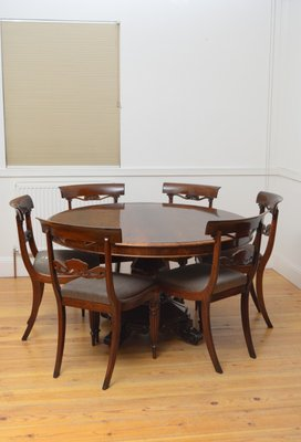 Antique Victorian Rosewood Dining Table For Sale At Pamono
