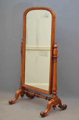 Antique Victorian Mahogany Cheval