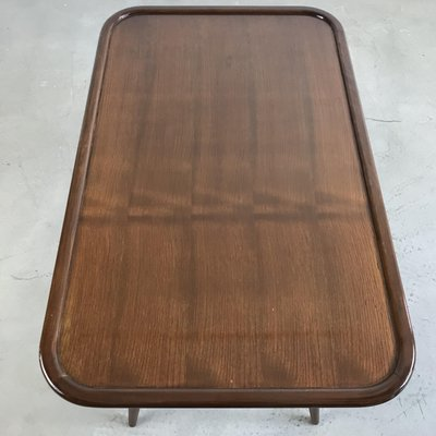 Coffee Table With.Mid Century Teak Coffee Table With Tapered Legs From De Ster Gelderland 1950s