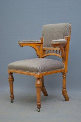 Superb Antique Oak Desk Chair Ibusinesslaw Wood Chair Design Ideas Ibusinesslaworg