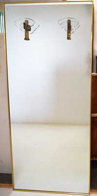 Italian Beveled Glass Mirror Door 1950s For Sale At Pamono