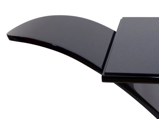 Cool Filigrane Black Lacquer Console Table From Adm Onthecornerstone Fun Painted Chair Ideas Images Onthecornerstoneorg