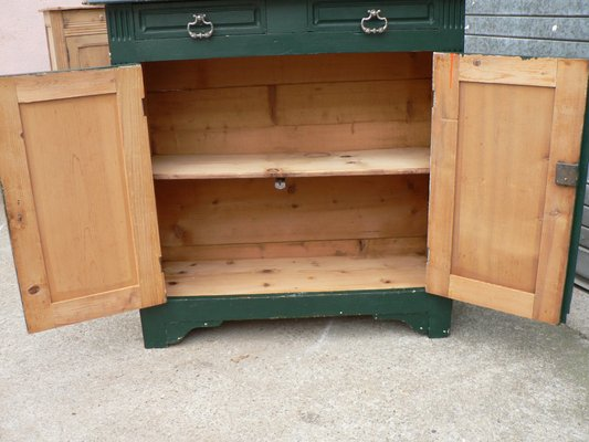 Antique French Pine Sideboard For