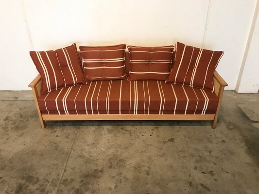Vintage Danish Convertible Sofa