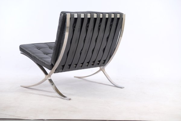 Fabulous Vintage German Barcelona Chairs By Ludwig Mies Van Der Rohe For Knoll International Set Of 2 Squirreltailoven Fun Painted Chair Ideas Images Squirreltailovenorg