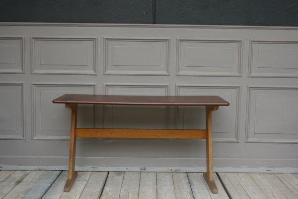 Super Mid Century Beech School Desk From Casala Theyellowbook Wood Chair Design Ideas Theyellowbookinfo