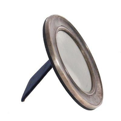 Kleiner Runder Mid Century Spiegel Von Mappin Webb 1960er