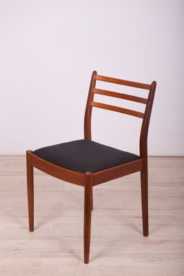 Fabric And Teak Dining Chairs By Victor Wilkins For G Plan 1960s Set Of 4 For Sale At Pamono