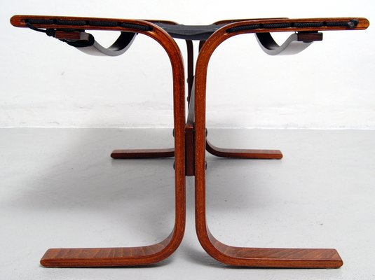 Awesome Vintage Siesta High Back Sling Lounge Chair And Ottoman Set By Ingmar Relling For Westnofa Gmtry Best Dining Table And Chair Ideas Images Gmtryco