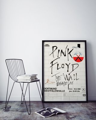 Pink Floyd The Wall Dortmund Concert Poster By Gerald Scarfe 1981 For Sale At Pamono
