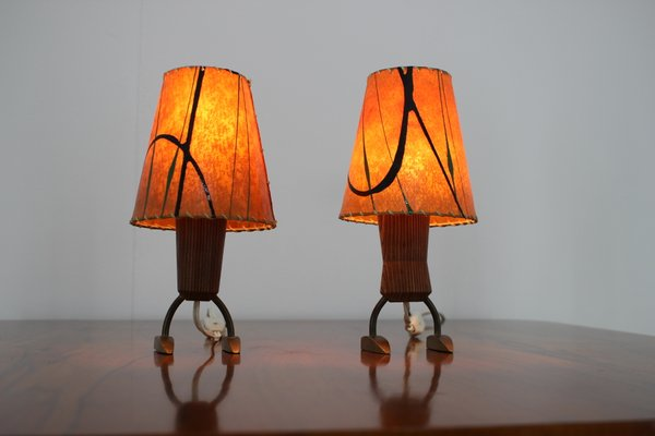 Small Table Lamps 1960s Set Of 2 For