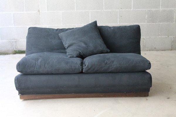 Incredible Vintage Black 2 Seater Sofa Machost Co Dining Chair Design Ideas Machostcouk