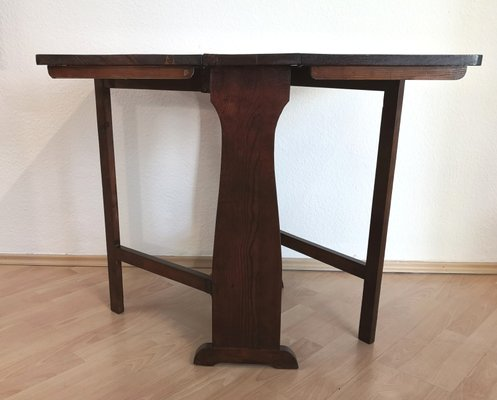 Table Antique Pliante Tendre en Bois 13FJcTKl