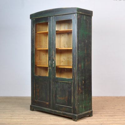 Outstanding Vintage Pine Glass Cupboard 1940S Complete Home Design Collection Papxelindsey Bellcom
